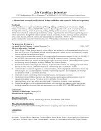 military resume writing