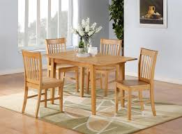 Set Of 4 Dining Room Chairs Set Of 4 Dining Chairs White Black Finish 5 Piece Counter Height