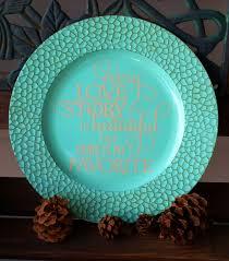 charger plates decorative: quot decorative personalized antique mosaicturquoise charger plate