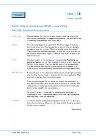essay writing skills key stage english literature key 8 preview
