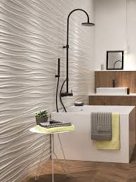 White-paste <b>3D</b> Wall Cladding RIBBON by <b>Atlas Concorde</b> ...