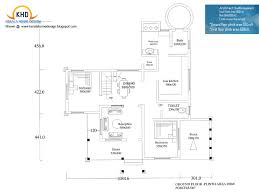 Home plan and elevation   Sq  Ft   home appliance Square Feet Home Design  amp  Plan