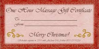 massage gift certificate templates gift certificate massage template 01