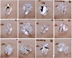 <b>New</b> Arrive 925 silver jewelry <b>50pcs</b> lot Charming Women girls finge ...
