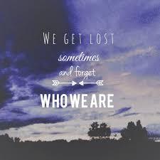 Kanvas App - littelicecreamdream: #lost #love #identity... via Relatably.com