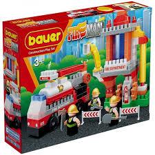 <b>Конструктор Bauer Fireman Пожарная</b> вышка (143 элемента ...