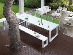 modern metal patio furniture incredible modern outdoor furniture with white color chair and gorgeous using balcony furniture miami