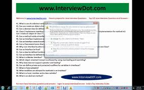 top core java interview questions best java interview top 125 core java interview questions best java interview questions