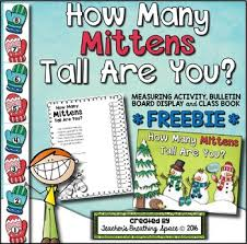 <b>Winter</b> Measuring FREEBIE --- How Many <b>Mittens</b> Tall Are You? | TpT