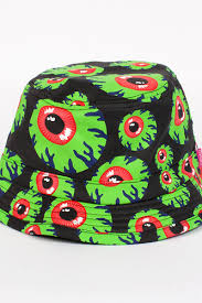 <b>Панама MISHKA</b> Keep Watch Bucket Hat (Green, S/M) | www ...