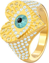 <b>Кольцо</b> ''Амулет от сглаза'' <b>Swarovski 5482532</b> с кристаллами ...