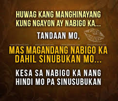 Tagalog Motivational Quotes and Sayings Archives - Girl Banat ... via Relatably.com