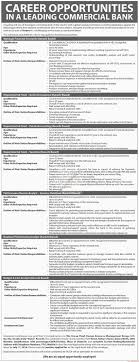 leading commercial banks jobs dawn jobs ads 03 2016 paperpk leading commercial banks jobs dawn jobs ads 03 2016