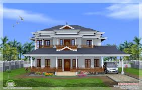 luxurious mansion of two floor five rooms and square meters    kerala home design