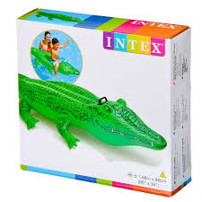 Каталог <b>Надувная игрушка</b>-<b>наездник INTEX</b> 58546 Крокодил от 3 ...
