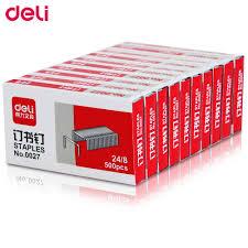 <b>Deli staples</b> Labor saving 24 / 6 Silver 1000pcs 12 # Special <b>Staple</b> ...