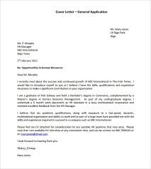 general application cover letter template pdf format job universal cover letter samples