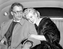 marilyn monroe arthur miller muses lovers the red list arthur miller and marilyn monroe in their car at idlewild airport 1957