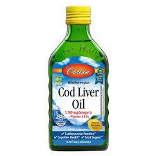 <b>Cod Liver</b> Oil | 1,100 mg Omega-3s + A & D3 - <b>Carlson</b> Labs