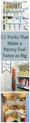 Small Kitchen Pantry Organization 17 Best Ideas About Small Kitchen Pantry On Pinterest Small