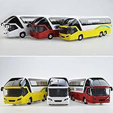 Model car Qiyun <b>1:32 Simulation</b> Alloy Tourist Bus Sound and Light ...