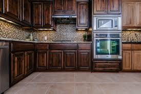 Best Type Of Floor For Kitchen Clean Floor And Awesome Contemporary Tile Backsplash Design To