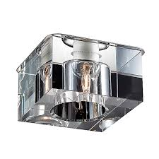 Встраиваемый <b>светильник Novotech 369298</b>, серый металлик