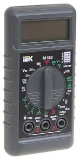 Купить <b>Мультиметр IEK Compact M182</b> по выгодной цене на ...
