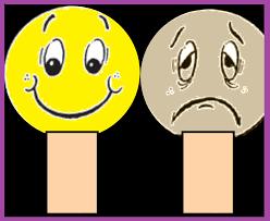 Resultado de imagem para as duas faces da alegria e da tristeza