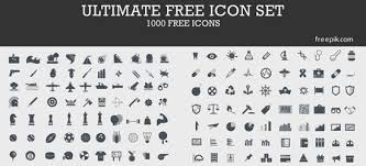 ultimate free icon set 1000 free icons basic icons flat icons 1000