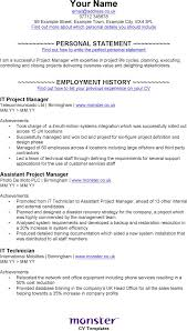 it  project manager cv template  doc pdf  page s  it project manager cv template