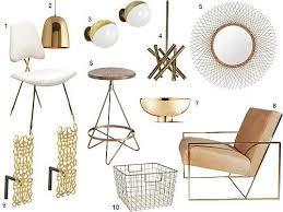 brass accents furnishings brass furniture