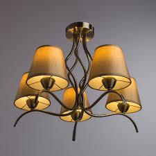 Светильник <b>Arte Lamp</b> GLORIOSO <b>A6569PL</b>-5AB — купить на ...