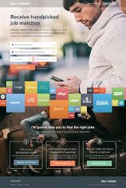 best ideas about job portal website layout food marketing landing page