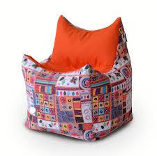 Кресло-трончик Персия №1, принтованный хлопок