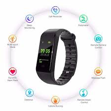 Online Shop Bluetooth <b>W6 Smart Bracelet</b> Fitness Tracker Step ...