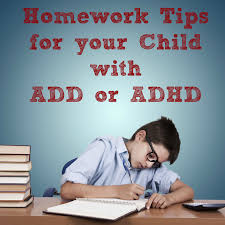School Year Success  Homework Tips for your Child with ADD or ADHD     Sippy Cup Mom