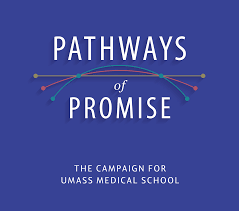university of massachusetts medical school umass medical school logo for pathways of promise comprehensive campaign
