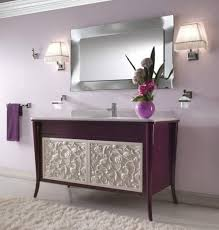 lavish bathroom vanity mirror ideas with wall mount rectangle shaped chrome mirror frames and decorative two bathroom lighting ideas square wall mounted