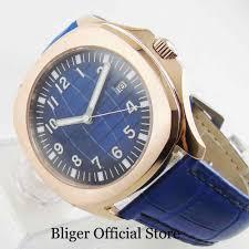 <b>BLIGER</b> Luxury Crystal Sterile <b>Dial 39mm</b> Automatic Men's Watch ...