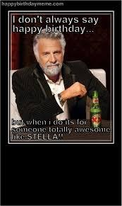 MEME | Happy Birthday Meme | funny... | Pinterest | Happy Birthday ... via Relatably.com