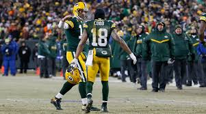 packers steelers off to scary start in nfl playoffs the mmqb aaron rodgers and randall cobb connected five times for 116 yards and three touchdowns against the giants