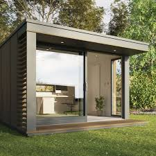 uk garden pods outdoor office building designed by pod space backyard office pod cuts