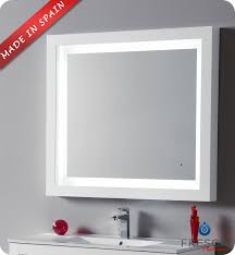 bathroom mirror lights led bathroom mirror with lighting