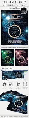 electro party flyer psd template facebook cover by electro party flyer psd template facebook cover