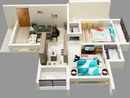 Floor Plans For Small  Bedroom Houses Bedroom - Two bedroomed house plans