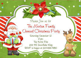christmas party invitations com