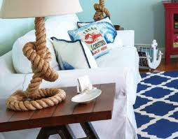 nautical rope lamps casual living room lots