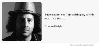 Steven Wright's quotes, famous and not much - QuotationOf . COM via Relatably.com