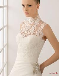 تزئین لباس یقه گیپور سفید برفی